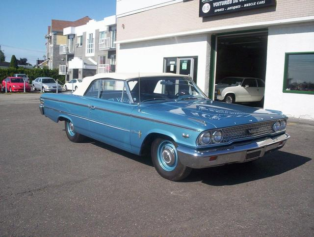 Ford Galaxie 500 406CI Tri Power Convertible 1963