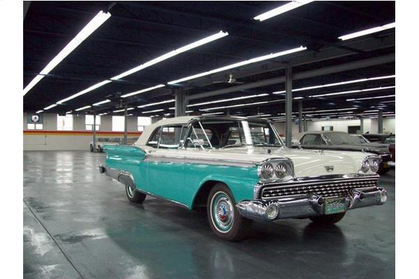 Ford Galaxie Fairlaine 500 Convertible 1959