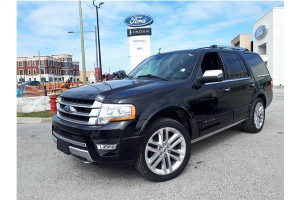 Ford Expedition Platinum 2016