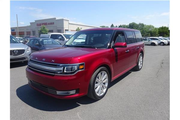 Ford Flex Limited EcoBoost AWD Toit Pano - Gps - Hitch 2018